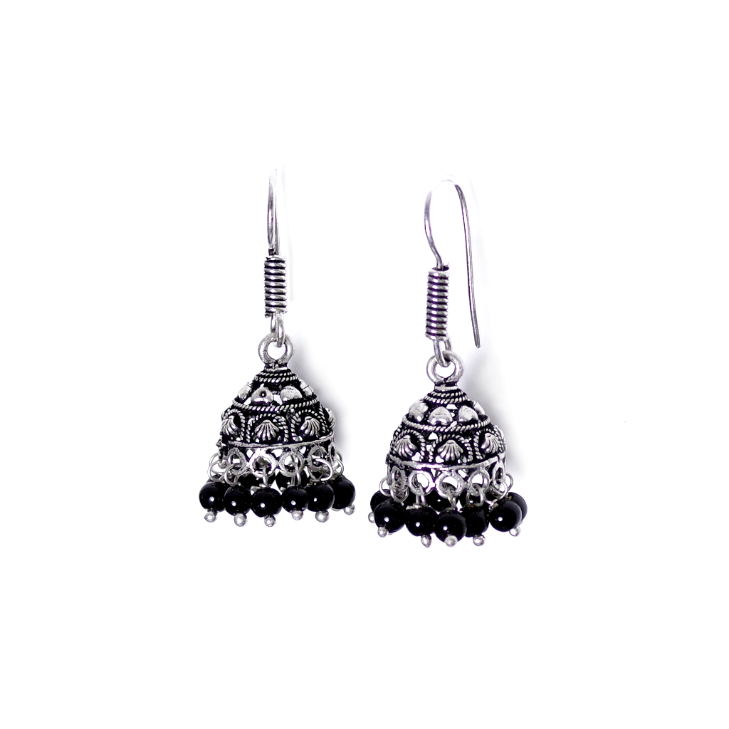 Gini Jhumka Earrings - SATORI ACCESSORIES