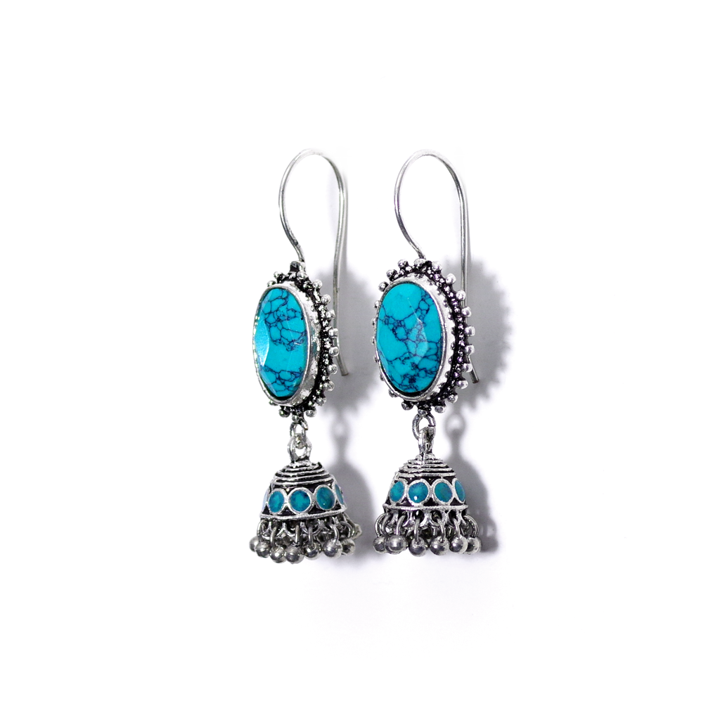 Sahana Jhumka Earrings