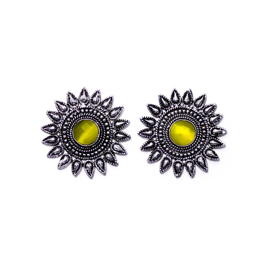 Surya Yellow Earrings