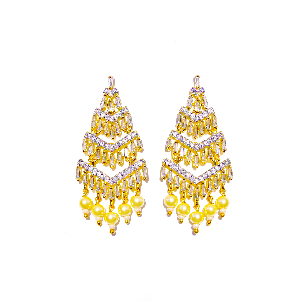 Fluid Chandelier Earrings