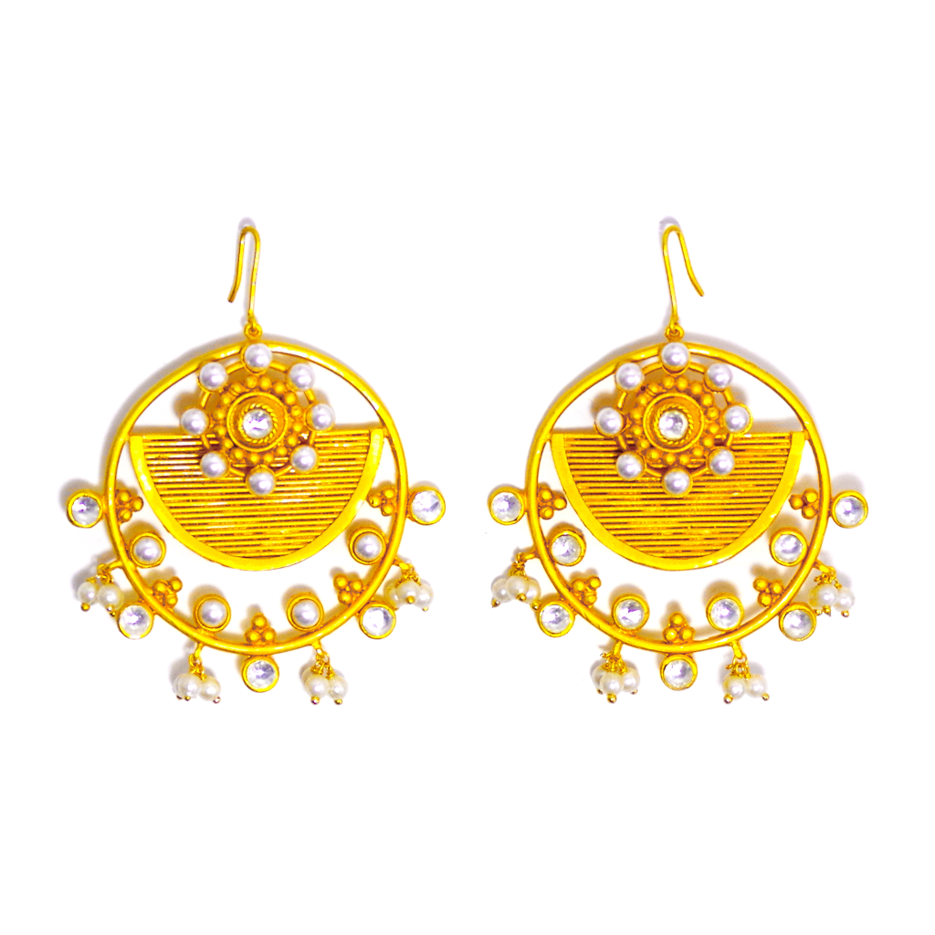 Ostentatious Statement Earrings