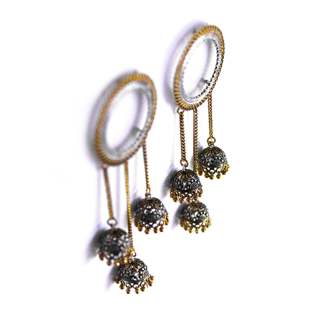 Maya Jhumka Drop Earrings