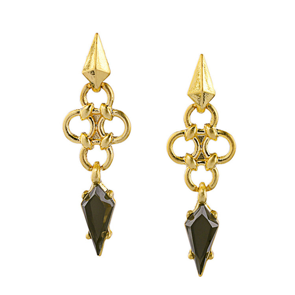 Spear Drop Earrings