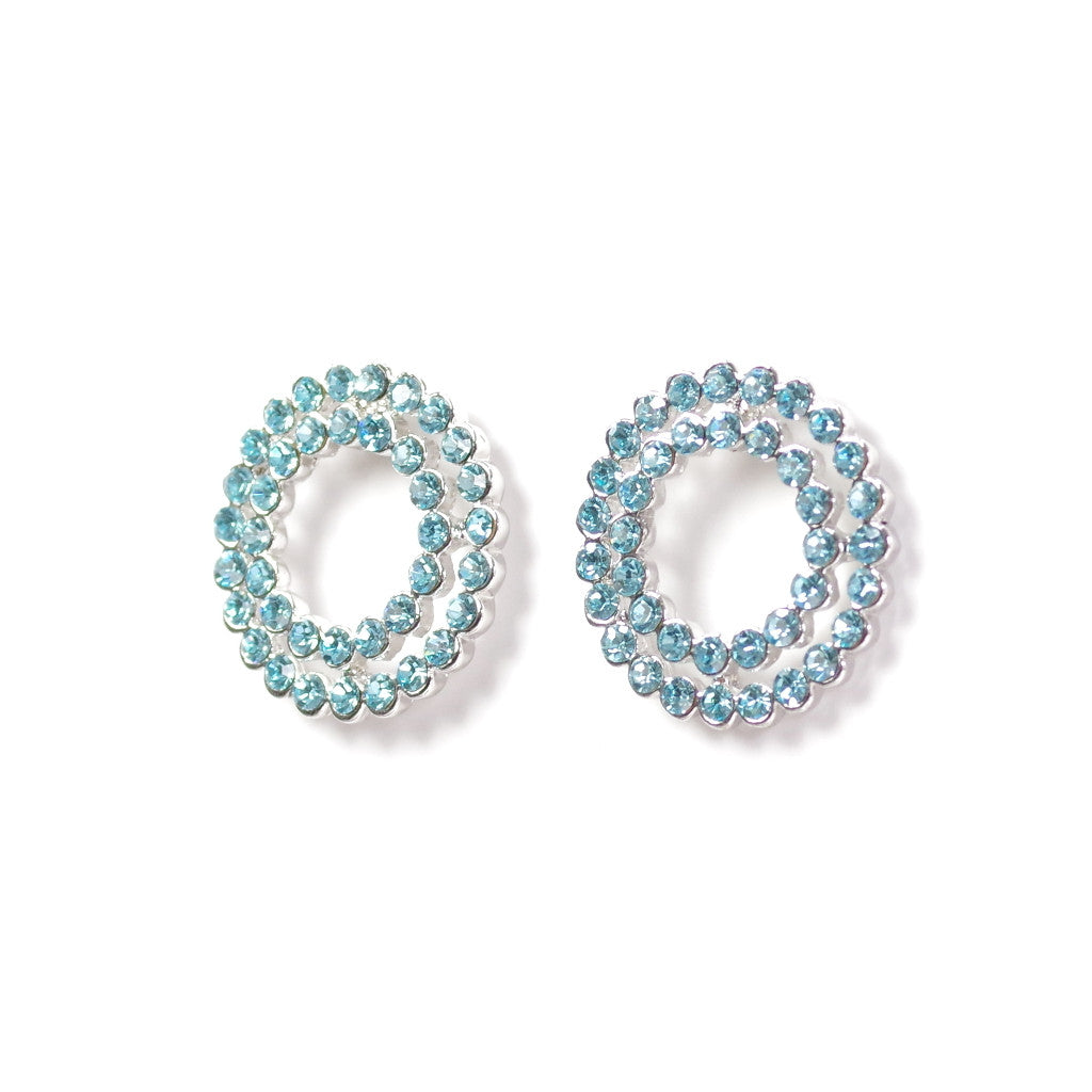 Loop Turquoise Earrings