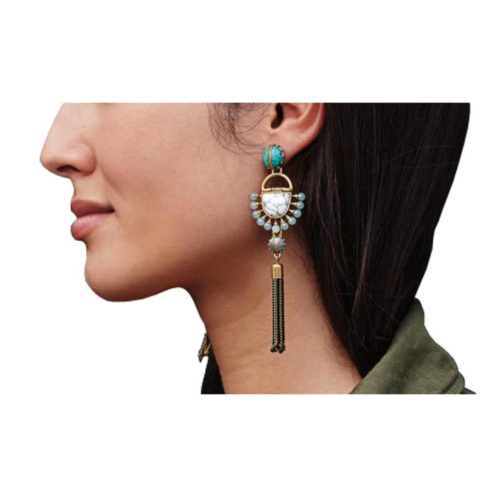 Egyptian Drop Earrings