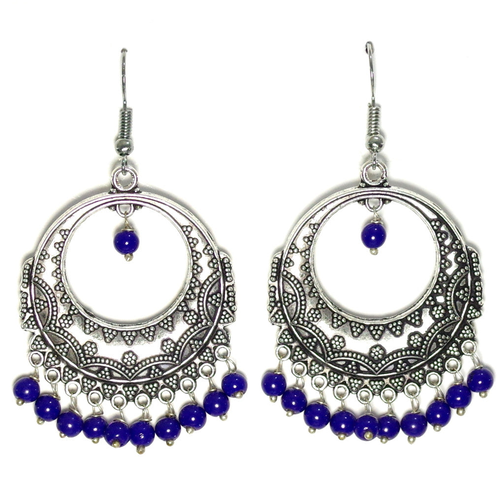 Tulabi Blue Earrings