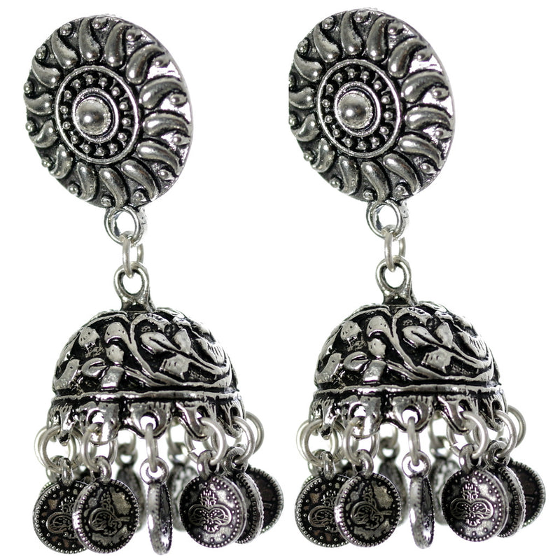Budsu Jhumka Earrings - SATORI ACCESSORIES