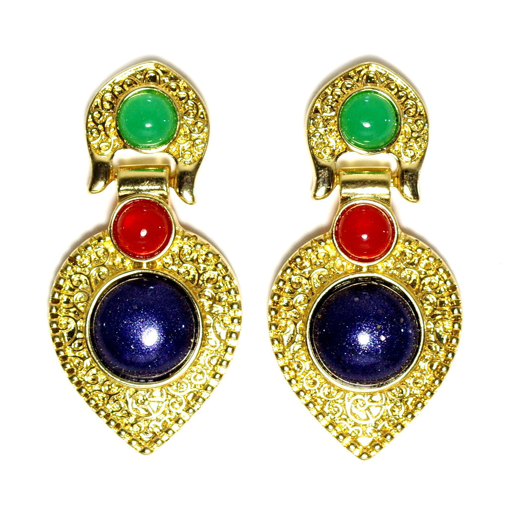 Indian Deco Earrings
