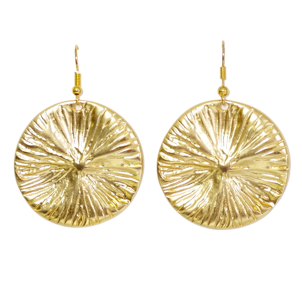 Agatha Gold Earrings - SATORI ACCESSORIES