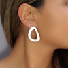 White Earrings