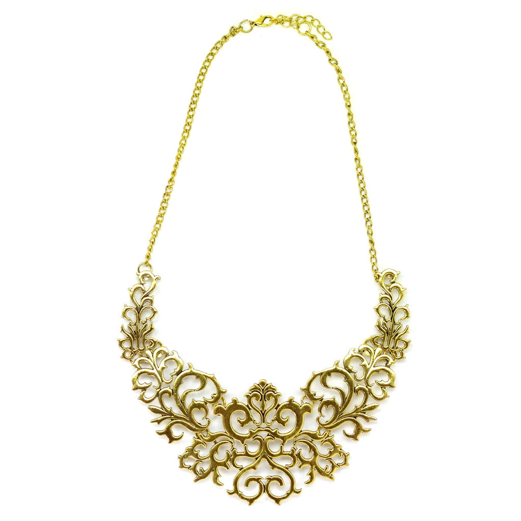 Baroque Gold Necklace