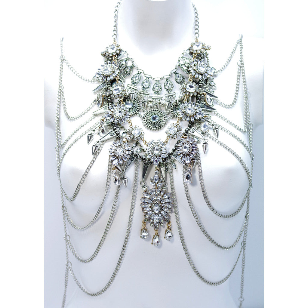 Cleopatra Full Statement Necklace