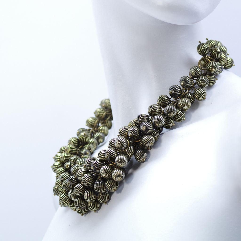 Astreopora Bronze Coral Necklace