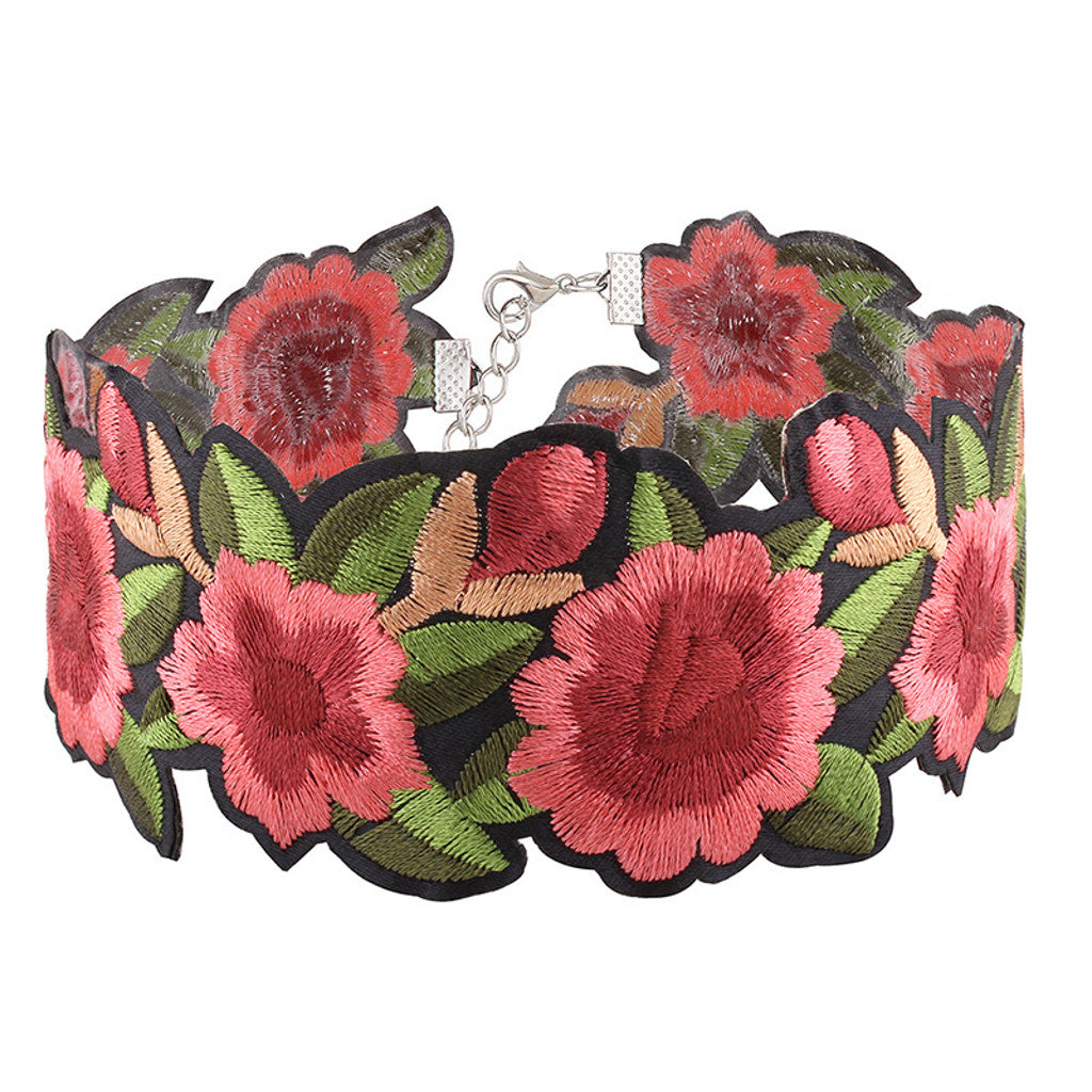 Rose Bloom Choker