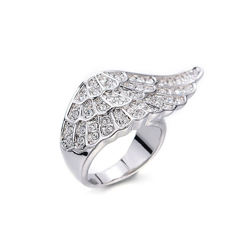 Winged Silver Ring