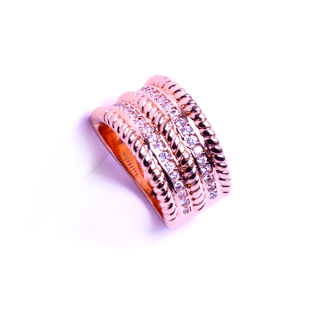 Rose Gold Chunky Ring