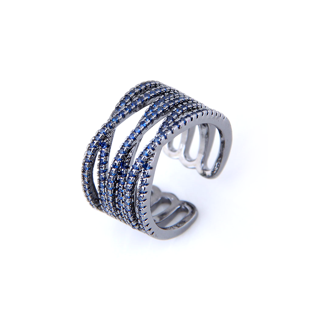 Blue Vine Ring