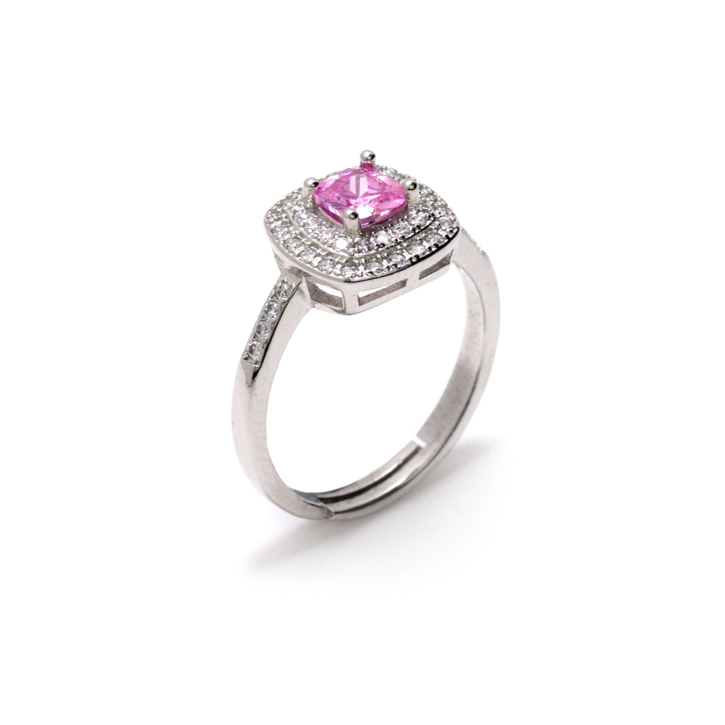 Opulence In Pink Ring
