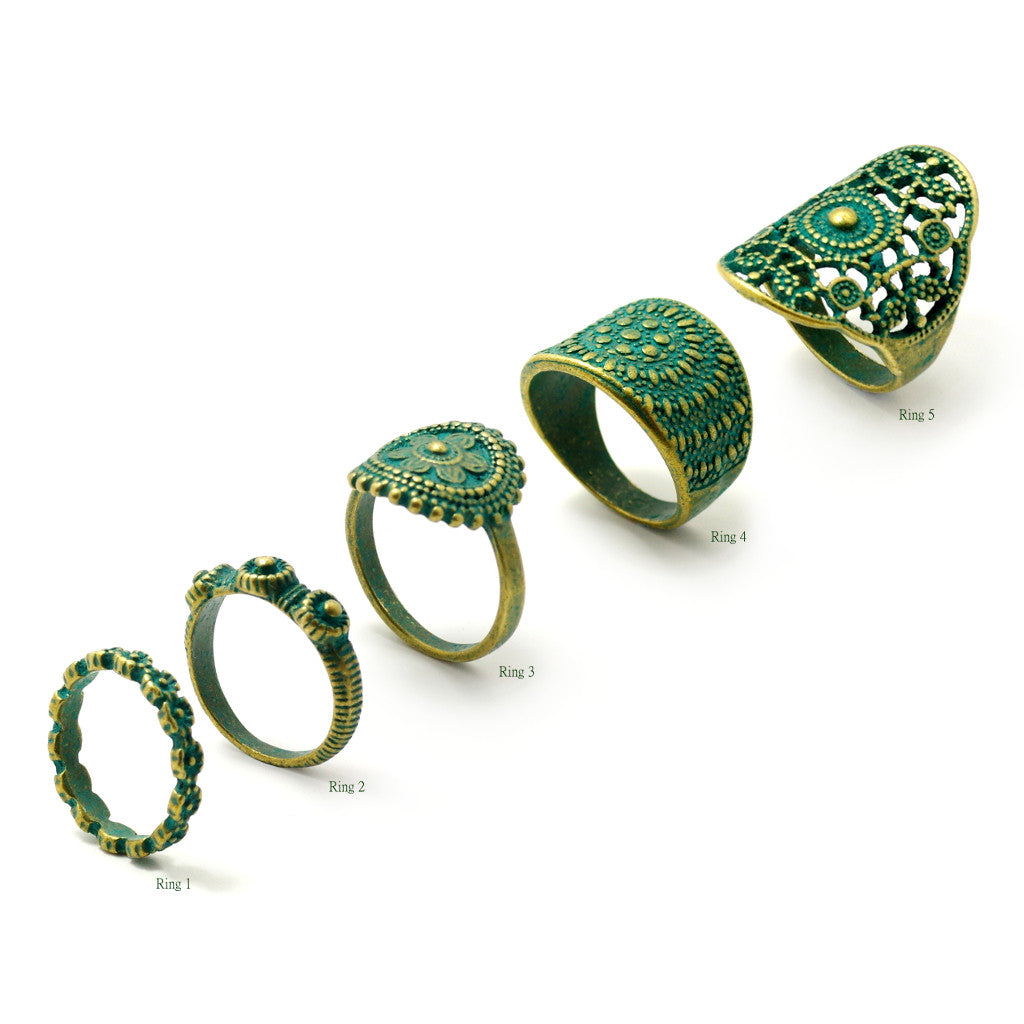 Antiquity Rings - SATORI ACCESSORIES