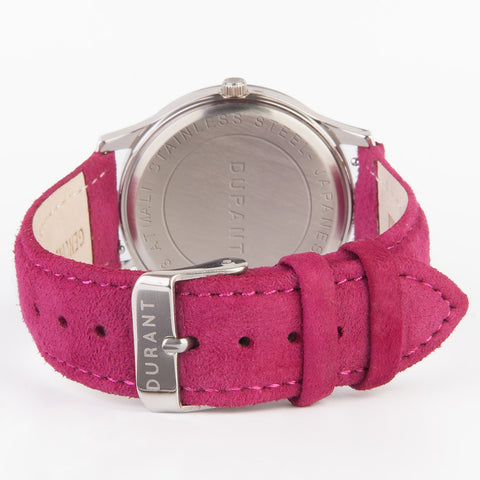 Magenta Suede Strap - Turbina Collection