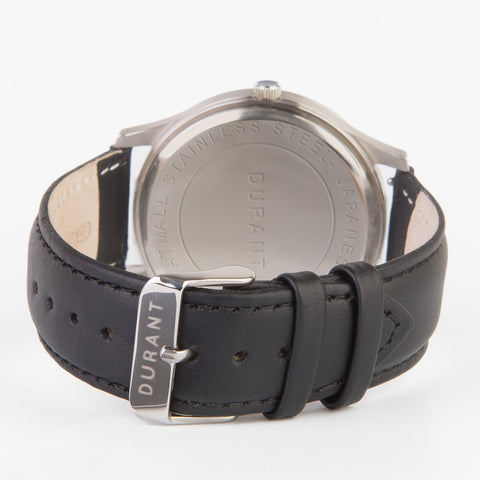 Black Leather Strap - Dialmaster Collection