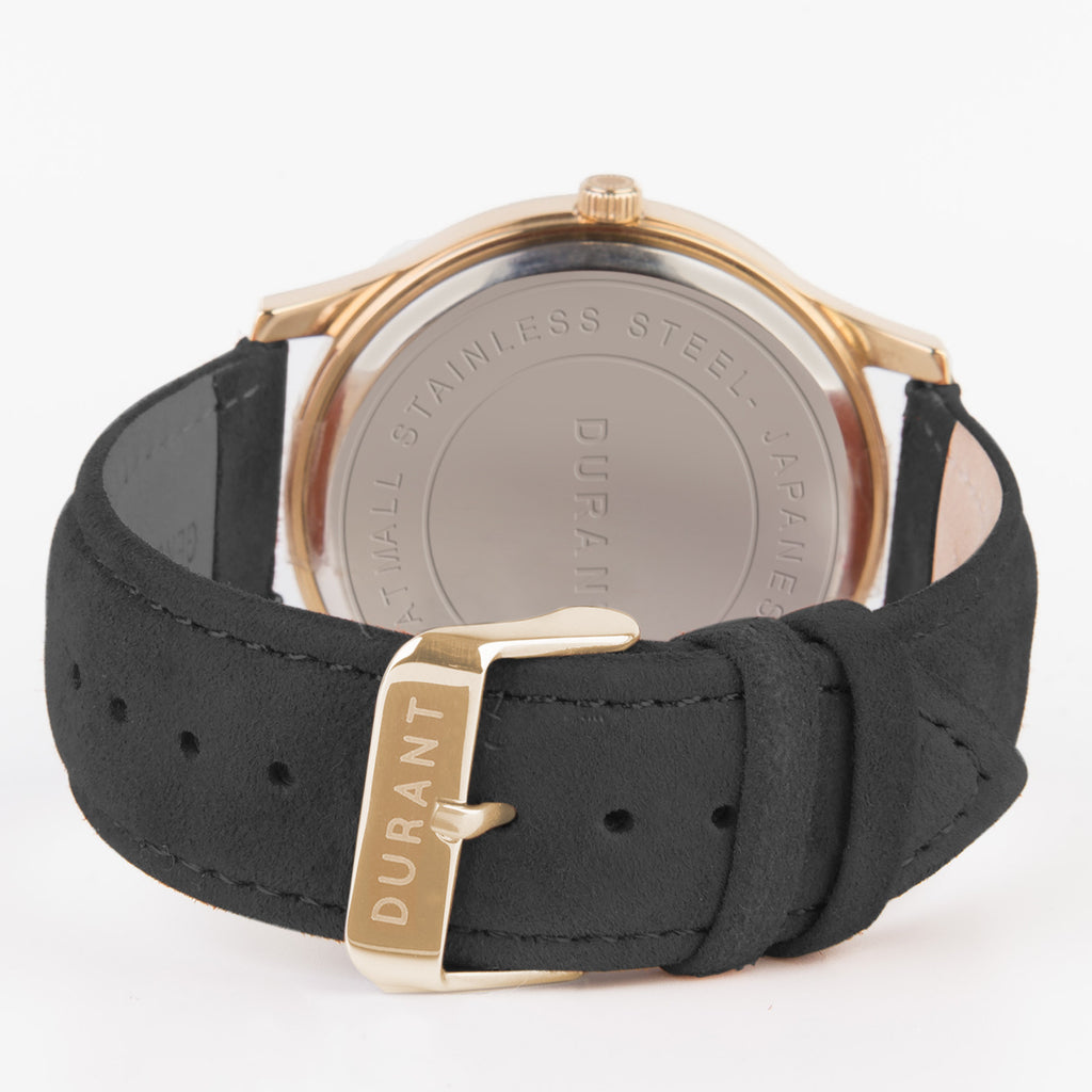 Black Suede Strap - Dialmaster Collection