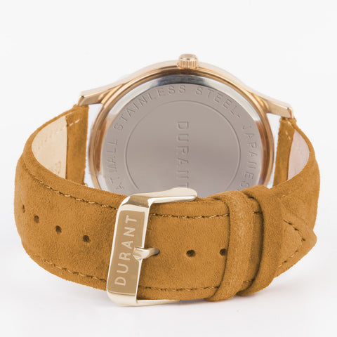 Camel Suede Strap - Dialmaster Collection