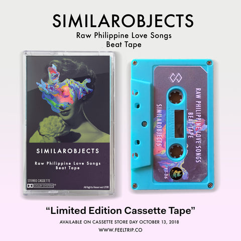 "FT-36 Similarobjects ""Raw Philippine Love Songs Beat Tape"" Cassette"
