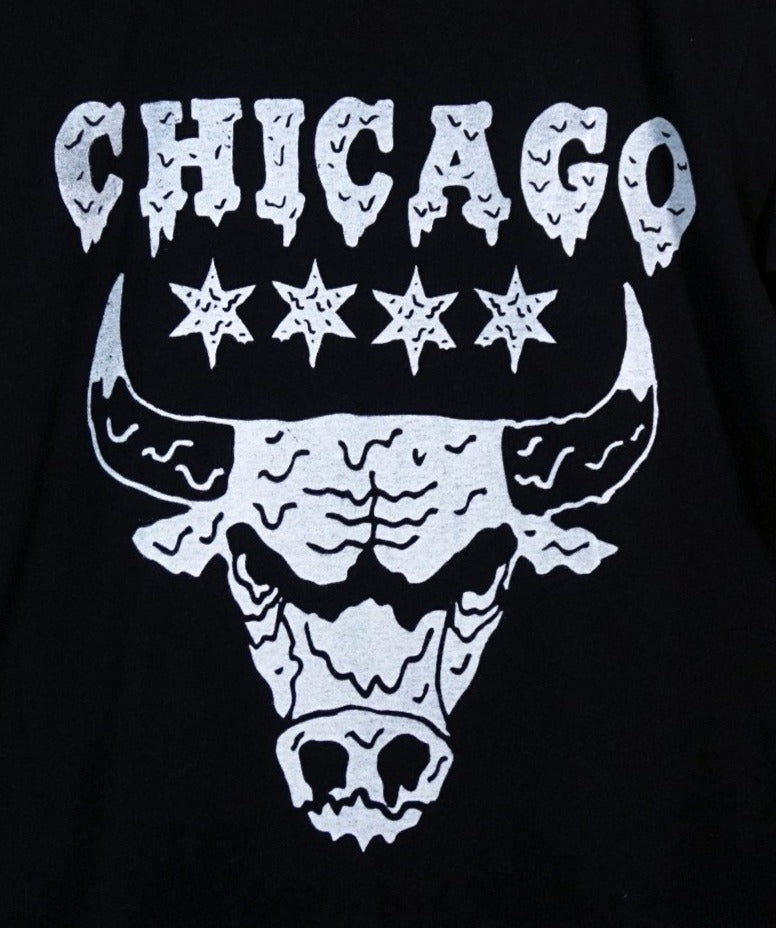 Drippy Bulls Black T-shirt
