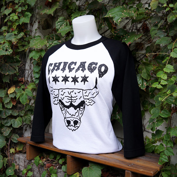 Drippy Bull Baseball tee
