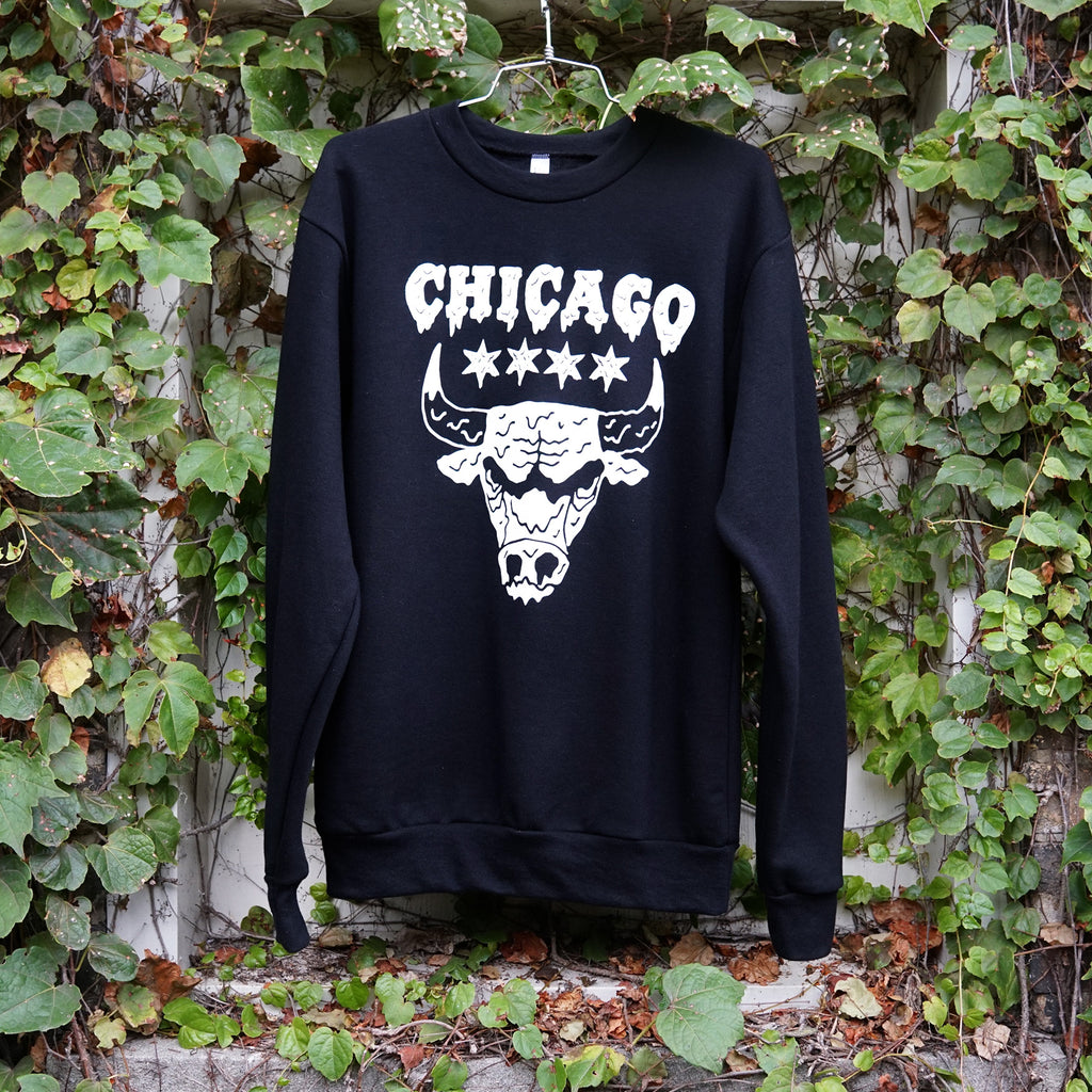 Drippy Bulls Black Sweatshirt