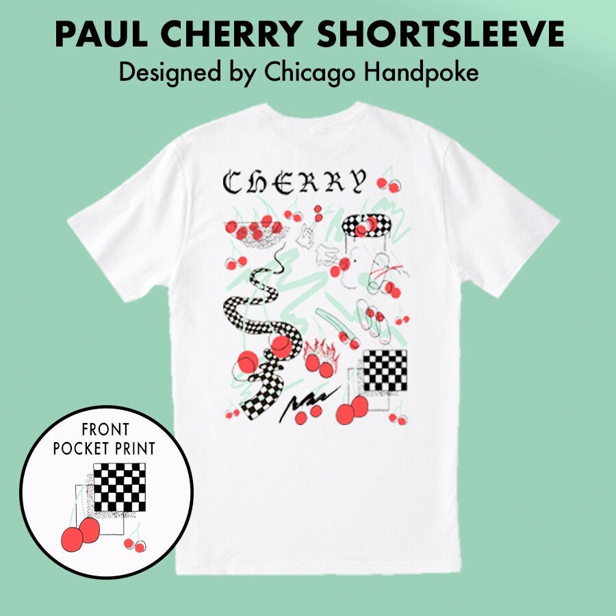 Paul Cherry Handpoke Tee