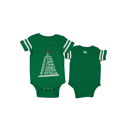Be Tree Baby Onesie - Green - The Black Santa Company