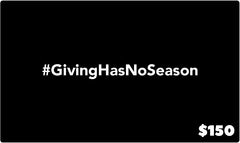 #BlessSomeone - Gift Card - The Black Santa Company