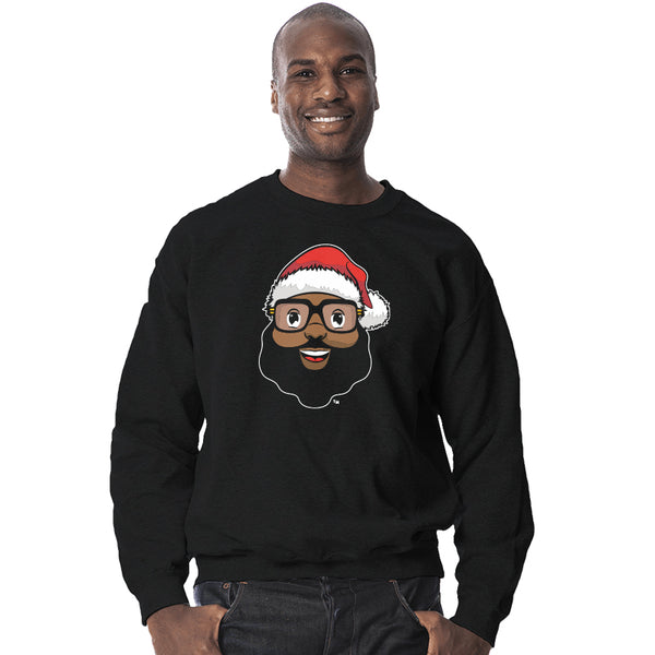 Black Santa Logo Sweater - Black - The Black Santa Company