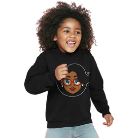 Mrs. C. Kids Sweater - Black
