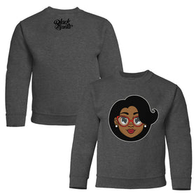 Mrs. C. Kids Sweater - Dark Heather