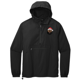 Black Santa Anorak Jacket