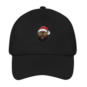 Black Santa Flex-fit Cap