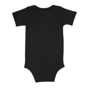 Black Santa Shadow Baby One Piece