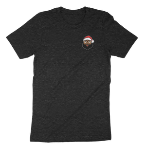 Black Santa Graphic T-Shirt