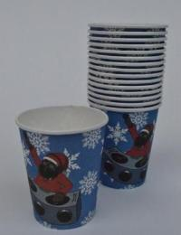 DJ BLACK SANTA PAPER CUPS - The Black Santa Company