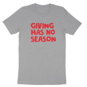 Giving Has No Season Men's Tee