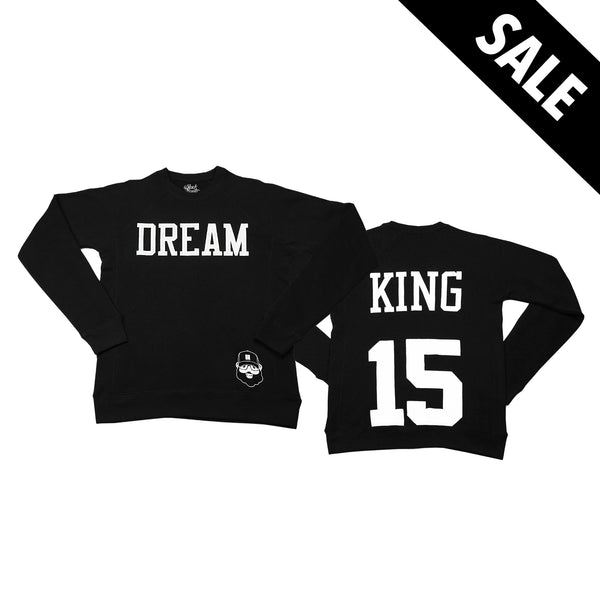 Signature Dream King Sweatshirt - Black - The Black Santa Company