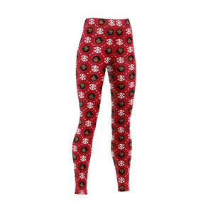Mrs. C & Snowflakes Leggings