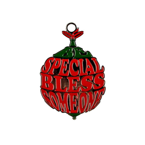 Be Special Bless Someone Metal Ornament - The Black Santa Company