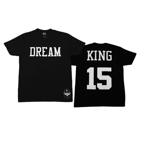 Signature Dream King Tee - Black - The Black Santa Company