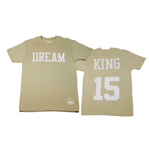 Signature Dream King Tee - Cream - The Black Santa Company