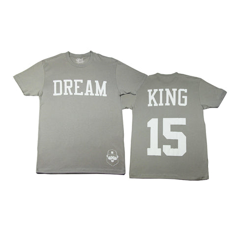 Signature Dream King Tee - Gray - The Black Santa Company