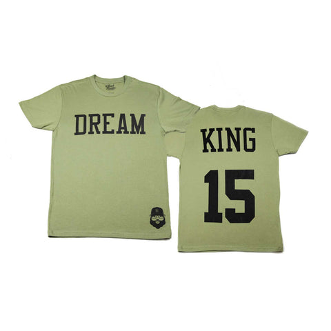 Signature Dream King Tee - Green - The Black Santa Company